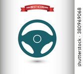 ������, ������: Steering wheel icon vector