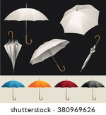 collection of opened  folded ... | Shutterstock .eps vector #380969626