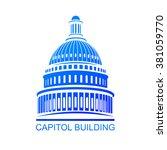 capitol building | Shutterstock .eps vector #381059770