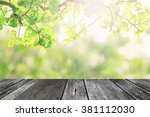 green nature leave background... | Shutterstock . vector #381112030