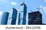 modern skyscrapers | Shutterstock . vector #38112958