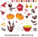 halloween vector icons set iii. ...
