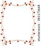 red frame | Shutterstock . vector #381173668