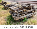 Unused Old Wooden Sleepers For...