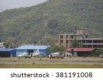 pokhara  nepal. 24 feb 2016... | Shutterstock . vector #381191008