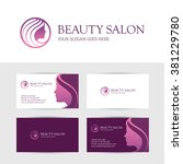 logo and business card design... | Shutterstock .eps vector #381229780