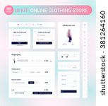 ui kit for online clothing...