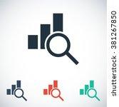 chart icon | Shutterstock .eps vector #381267850