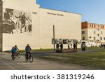 berlin   april 3  the berlin... | Shutterstock . vector #381319246