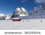 denali national park  alaska ... | Shutterstock . vector #381335014