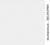 Black seamless wavy line pattern | Shutterstock vector #381343984