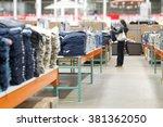 blur supermarket   wholesale... | Shutterstock . vector #381362050