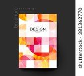 abstract background vector...   Shutterstock .eps vector #381362770