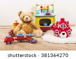 toys collection | Shutterstock . vector #381364270