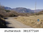 road in the mountains | Shutterstock . vector #381377164