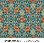 Abstract Geometric Mosaic...