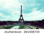 eifel tower | Shutterstock . vector #381408724