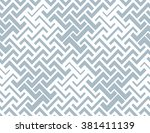 the geometric pattern by... | Shutterstock . vector #381411139
