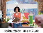 shop assistant | Shutterstock . vector #381412330