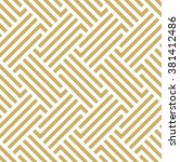 the geometric pattern by... | Shutterstock . vector #381412486