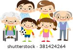 family | Shutterstock .eps vector #381424264