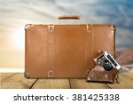 traveling. | Shutterstock . vector #381425338