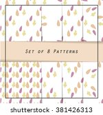 classic collection of patterns... | Shutterstock .eps vector #381426313