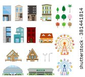 various building   Shutterstock .eps vector #381441814
