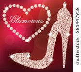 glamour design elements.... | Shutterstock .eps vector #381447958