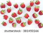 fresh strawberry.  | Shutterstock . vector #381450166