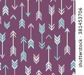 vector abstract modern seamless ... | Shutterstock .eps vector #381453706