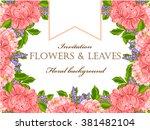 vintage delicate invitation... | Shutterstock .eps vector #381482104