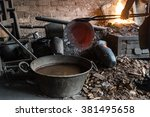 Small photo of Coppersmith working