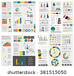 mega set of infographics... | Shutterstock .eps vector #381515050