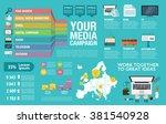 flat design vector illustration ... | Shutterstock .eps vector #381540928