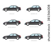 vector illustration of types of ... | Shutterstock .eps vector #381566308
