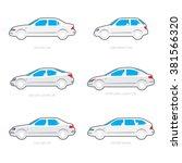 vector illustration of types of ... | Shutterstock .eps vector #381566320