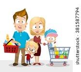 vector cartoon illustration of... | Shutterstock .eps vector #381587794