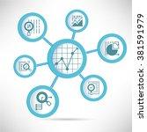 data analytics concept | Shutterstock .eps vector #381591979