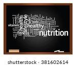 vector concept or conceptual... | Shutterstock .eps vector #381602614