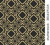 vector seamless pattern.... | Shutterstock .eps vector #381619114