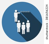presentation icon jpg | Shutterstock .eps vector #381656224