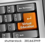 keyboard illustration with... | Shutterstock . vector #381663949