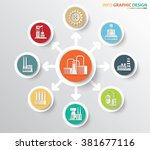 industry and factory concept...   Shutterstock .eps vector #381677116