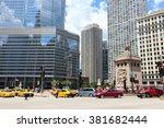 chicago  usa   june 28  2013 ...   Shutterstock . vector #381682444