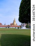 beautiful grand palace in... | Shutterstock . vector #381687634