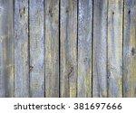wood plank brown texture... | Shutterstock . vector #381697666