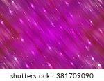 abstract bright glitter pink... | Shutterstock . vector #381709090