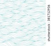 seamless waves pattern....   Shutterstock .eps vector #381712936