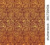 decor ornament gradient vector... | Shutterstock .eps vector #381720436